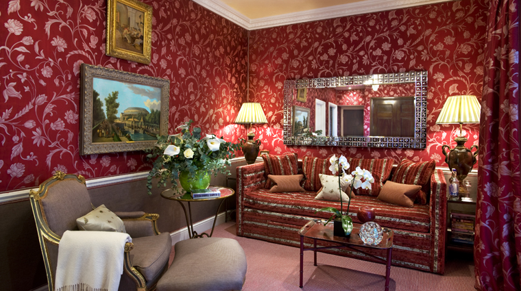 Victoria and Albert Suite Sitting Room