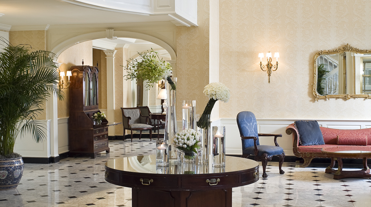 The Fairfax at Embassy Row Hotel Lobby, Washington, D.C.