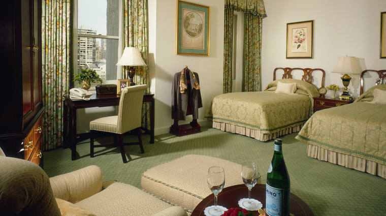 The Fairmont Olympic Hotel Guest Room, Seattle Washington