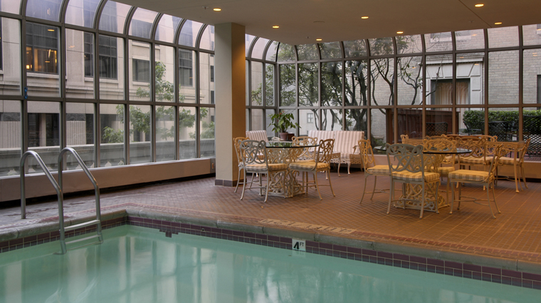 The Fairmont Olympic Hotel Indoor Pool, Seattle Washington