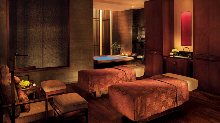 The Peninsula Spa Beijing Couples Treatment Room