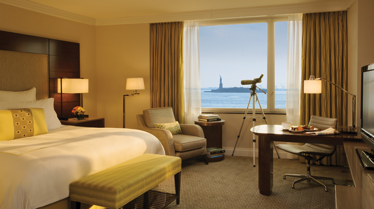 The Ritz-Carlton New York, Battery Park Hotel Statue of Liberty View Room
