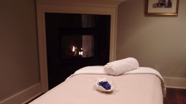 The White Barn Inn Spa Treatment Room, Kennebunkport Maine