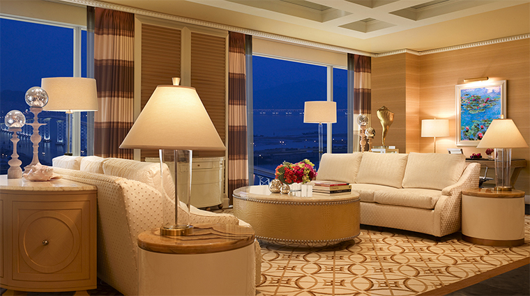 Wynn Macau One Bedroom Suite Living Room