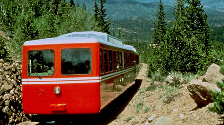 The Broadmoor Pikes Peak Cog Railway