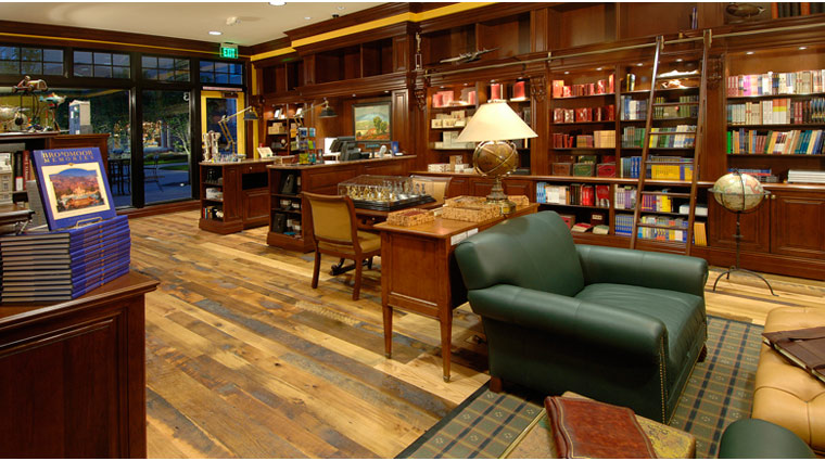 Shopping at The Broadmoor The Library
