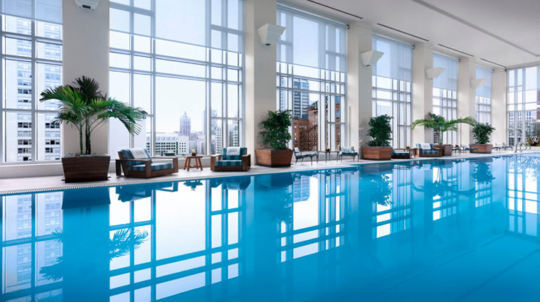 The Peninsula Hotel Chicago Pool