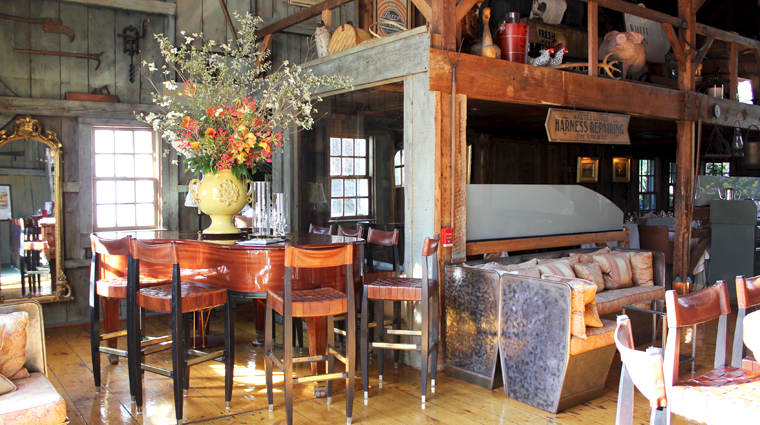 The White Barn Inn Restaurant Interior Décor