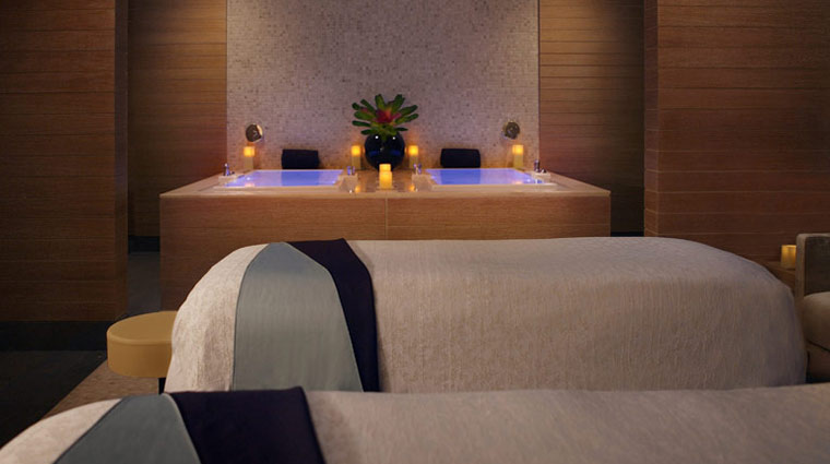 The Spa at Trump Chicago Couples Treatment Room