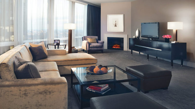 Trump International Hotel & Tower Chicago Guest Suite Living Room
