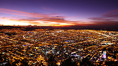Bogota at Sunset