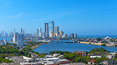 City Skyline of Modern Cartagena