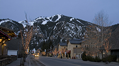 Sun Valley Road in Ketchum