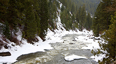 The Payette River in the Winter