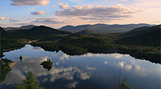 Mont Tremblant Monroe Lake at Sunset