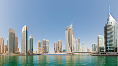Waterfront Cityscape