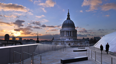 Rooftop View of St. Paul's Cathedral