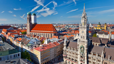Aerial View of Munich
