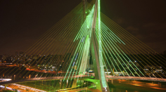 Bridge in Sao Paulo