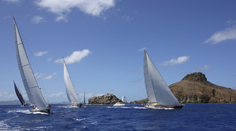 Sailing in St. Barts
