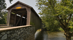Covered Bridge in Amish Lancaster County