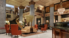 The Seelbach Hilton Hotel Lobby in Louisville, Kentucky
