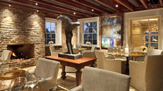 The Inn at Willow Grove Vintage Restaurant in Virginia