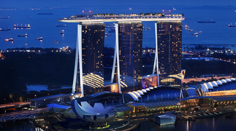 Marina Bay Sands Aerial View