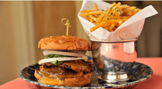 Capitol Grille Sandwich and Fries