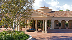 The Resort at Pelican Hill, Porte Cochere for arriving guests