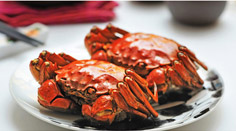 Steamed Shanghai Hairy Crabs