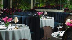 The Polo Lounge Dining Tables